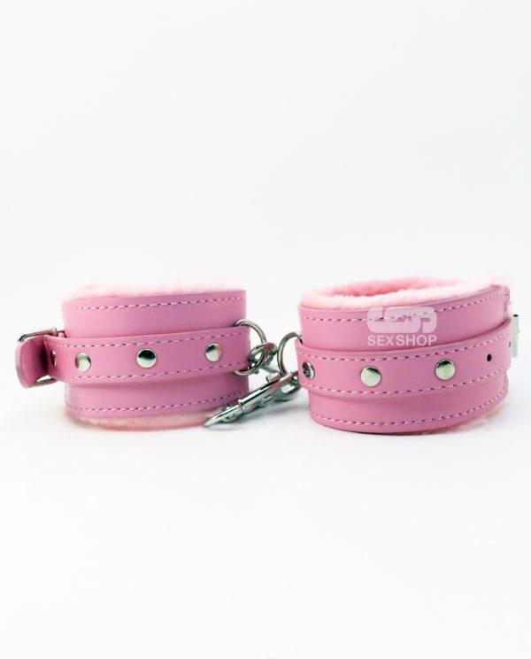 Набор БДСМ розовый 8 предметов