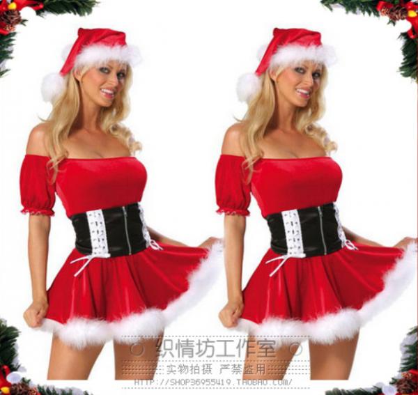 Эротический новогодний костюм