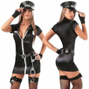 Эротический костюм Сексуальный Коп