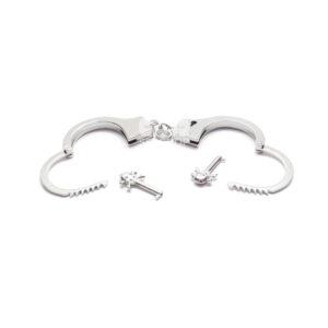 Металлические наручники Сладкий