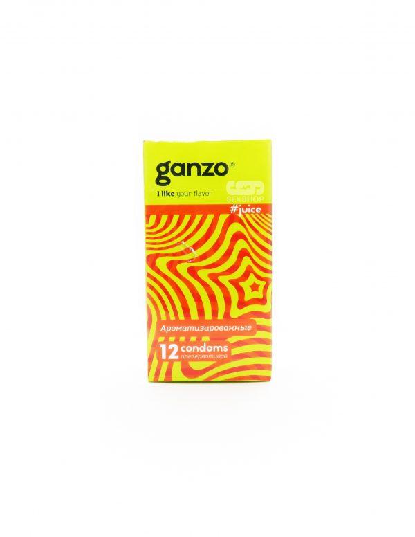 Презервативы Ganzo ароматизированные