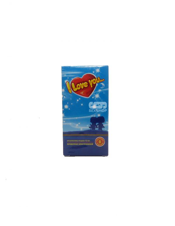 Гладкие презервативы Love U большая