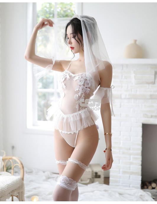 Эротический костюм невесты Альбертина