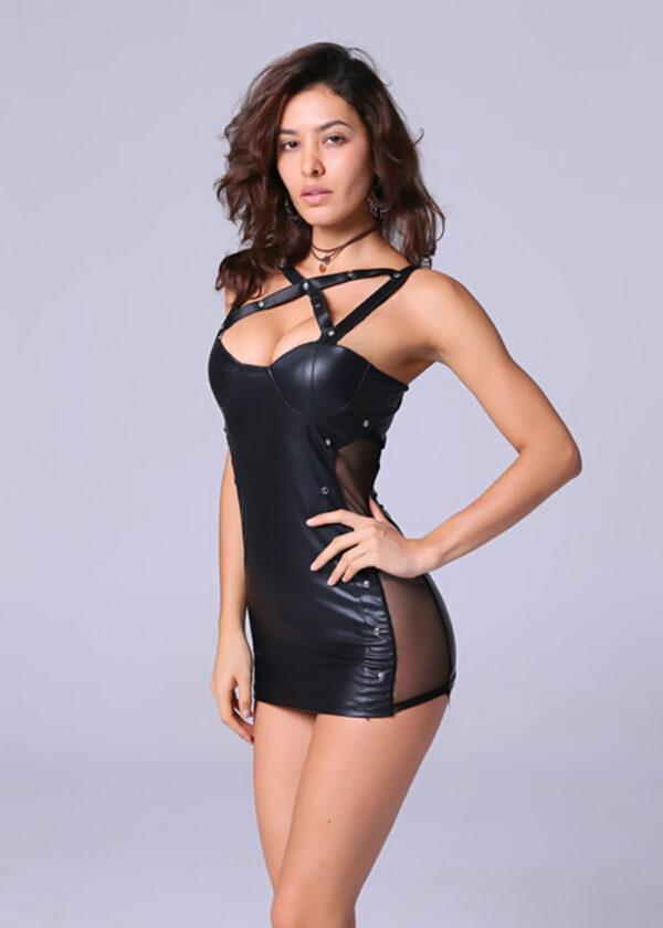 Платье виниловое Линда