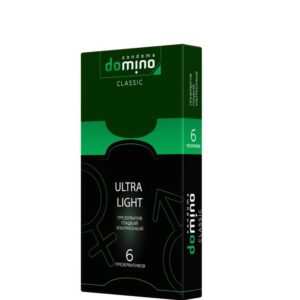 Презервативы Domino Ultralight супертонкие 6 шт Артикул 631