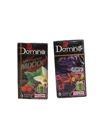 Презервативы Domino фркутовый слот