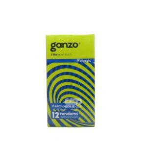Презервативы Ganzo Classic с обильной смазкой 12 шт Артикул 609