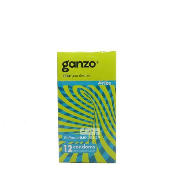 Презервативы Ganzo Ribs